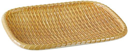 Yanco WD-409 Rectangular Wooden Tray  975 Length 75 Width Melamine Pack of 24