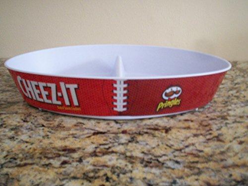 Football Snack Divided Platter