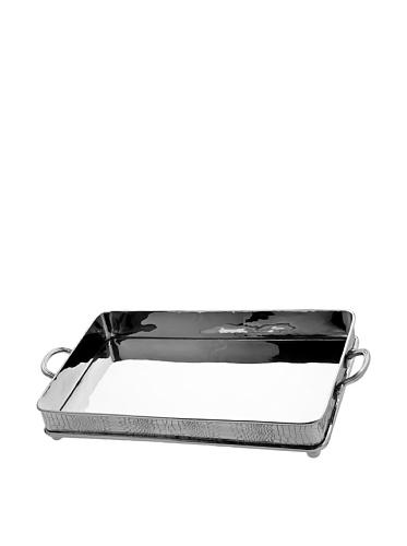 16 Croco Design Rectangular Serving Tray With Handles