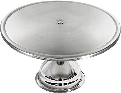 Estilo Stainless Steel Round Cake Stand 13 Inch
