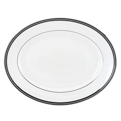 Kate Spade New York 6258131 Union Street 13 Oval Platter White