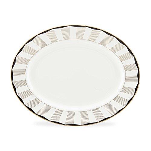 Lenox Gluckstein Audrey Oval Platter White