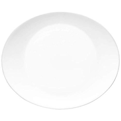 Bormioli Rocco 431280F26321990 Prometeo Steak Plate 12-inch diameter 1 Unit each White