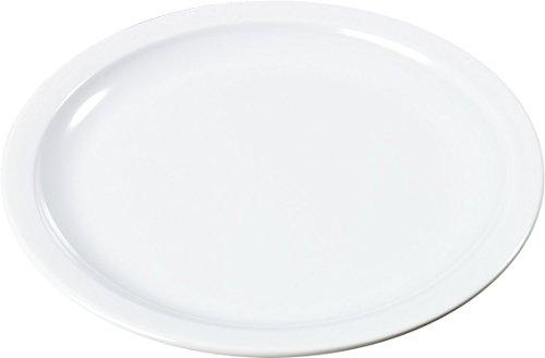Carlisle KL20502 Kingline Melamine Bread and Butter Plate 059 x 547 White Case of 48