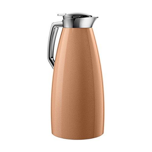 Emsa Plaza Vacuum Jug Quick Tip 15 L Copper Coffee Tea Jug Thermos Flask 514377