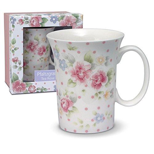 Pfaltzgraff Tea Rose Mug With Gift Box 12-Ounce