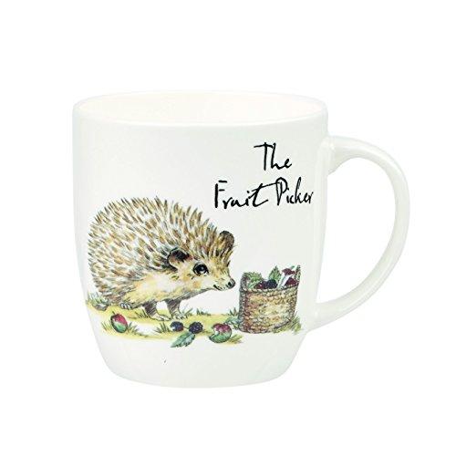 Churchill Country Pursuits Fruit Picker Fine Bone China Gift Coffee Tea Mug