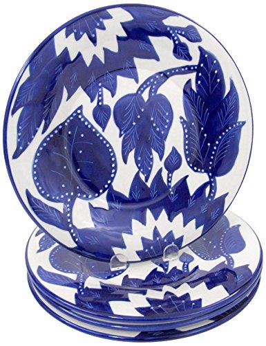 Le Souk Ceramique JA43 Stoneware Dinner Plates Set of 4 Jinane