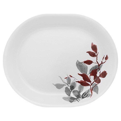 Corelle Coordinates Boutique Kyoto Leaves 1225 Oval Serving Platter