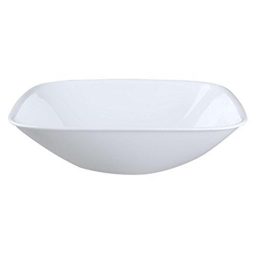 Corelle Coordinates Square Pure White 15 Quart Serving Bowl Set of 4