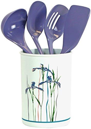 Corelle Coordinates by Reston Lloyd 5-Piece Utensil Set Shadow Iris