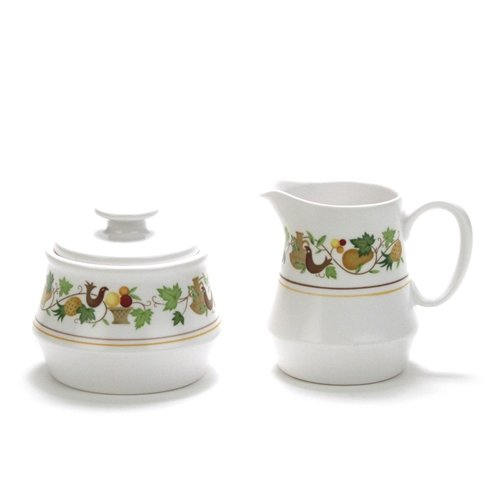 Homecoming by Noritake Stoneware Cream Pitcher Sugar Bowl