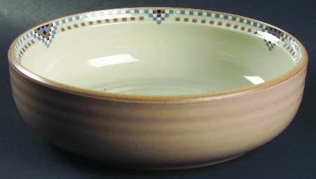 Noritake Stoneware Sedona Pattern 9 38 Round Baker 8481