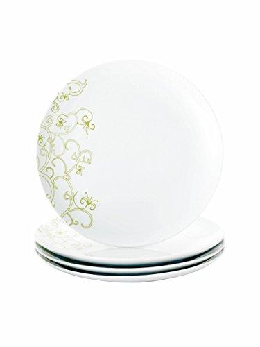 Rachael Ray Dinnerware Curly-Q 4-Piece Dinner Plate Set