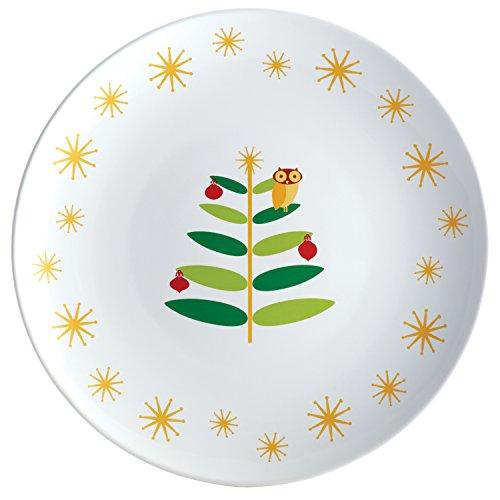 Rachael Ray Dinnerware Holiday Hoot 14-Inch Round Platter