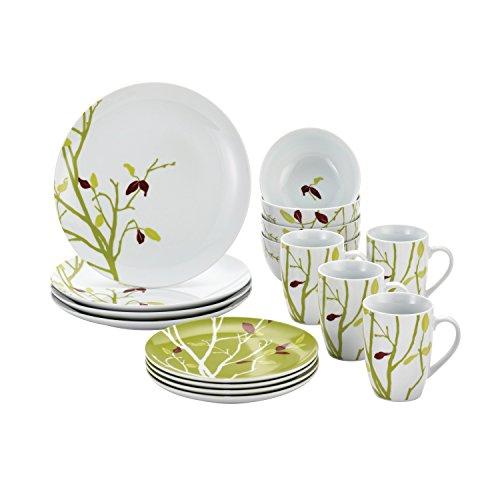 Rachael Ray Dinnerware Seasons Changing 16-Piece Dinnerware Set