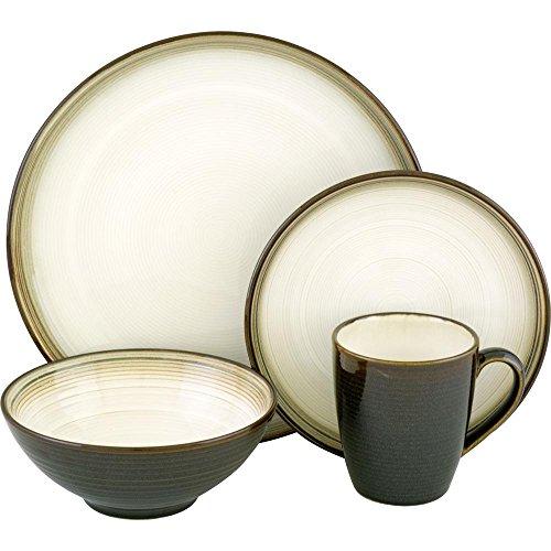 SANGO Jetta Black 16 pc Dinnerware Set
