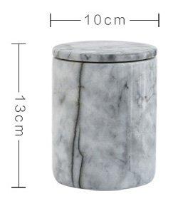 LEEZONE Natural marble kitchen barrel red wine holder wine chiller ice bucket Grey