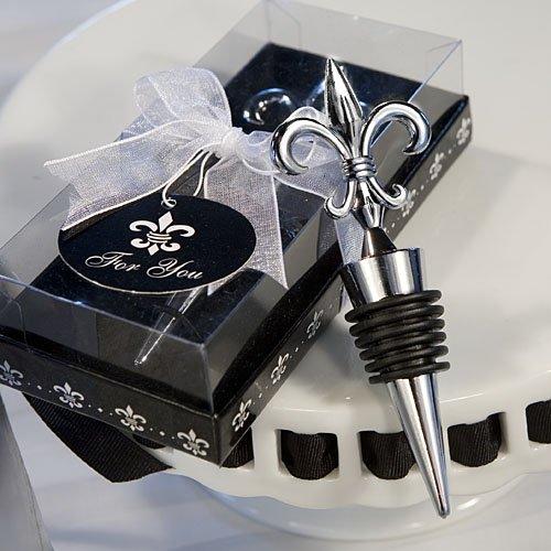 84 Fleur De Lis Design Wine Bottle Stoppers Wedding Favors