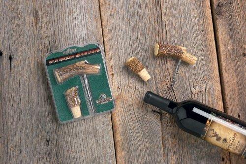 Antler Cork Screw Bottle Opener Antler Kork Screw and Cork for Wine Bottle Cabin Kitchen Decor Resin Antler