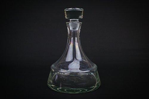 Cut Glass Vintage Bourbon Whisky Port DECANTER Wedgwood CARAFE Bottle Crystal Modernist English LS