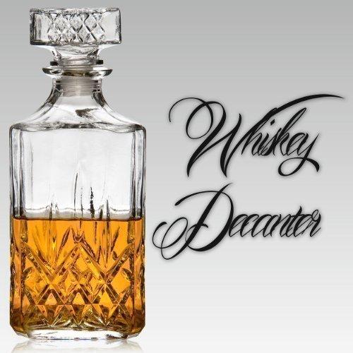 Panorama Glass Whiskey Decanter