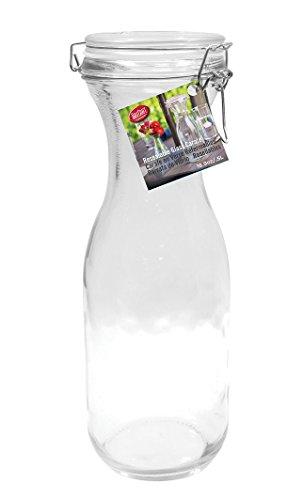 TableCraft 33875 oz Resealable Glass Water Carafe