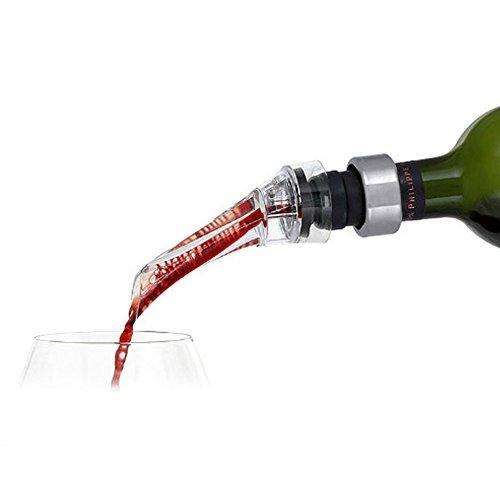 Yollex Wine Aerator Pourer - Premium Aerating Pourer and Decanter Spout