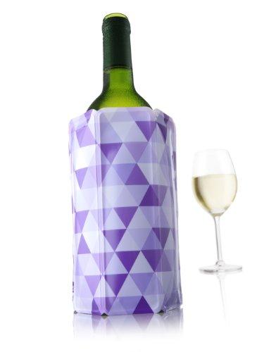 Vacu Vin Rapid Ice Wine Cooler - Diamond Purple