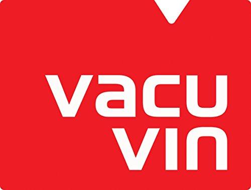 Vacu Vin Wine Bottle CoasterSurface Protector - Stainless Steel