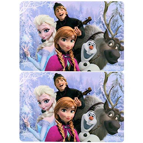 Disney Frozen Plastic Placemat Set 2 Per Pack