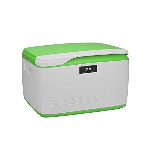 Locking Combination Medicine Box Child Proof Storage Container Size 18 x 11 x 96 Inch 34-Quart32L