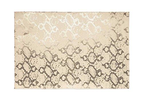 Harman Metallic Python PVC Faux Leather Placemat Gold