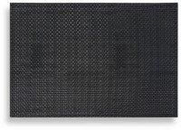 Keeco 8 Pieces Dakota Faux Leather Placemat Black
