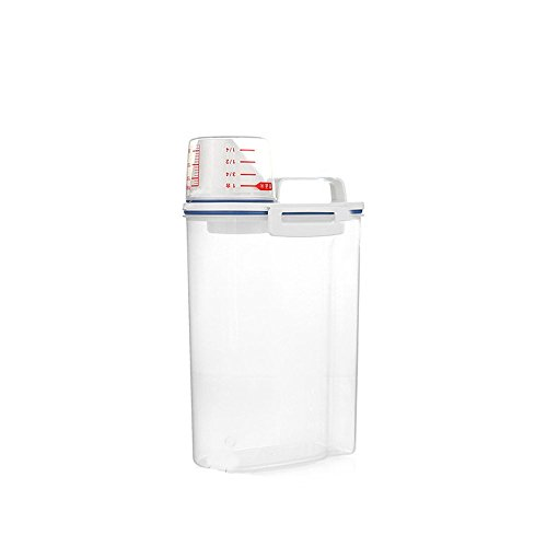 2L Plastic Kitchen Food Grain Rice Container Storage Box