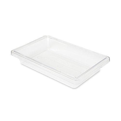 Rubbermaid Commercial FG330700CLR FoodTote Box 2-gallon