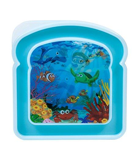Brite Concepts 3-D Sea Life Sandwich Box