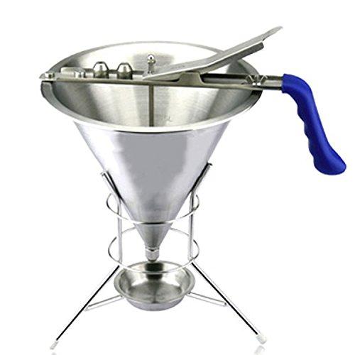 Generic 2mm 4mm 6mm Stainless Steel Waffle Pancake CupCake Batter Dispenser