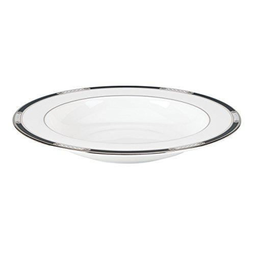 Lenox Hancock Platinum PastaRim Soup Bowl White