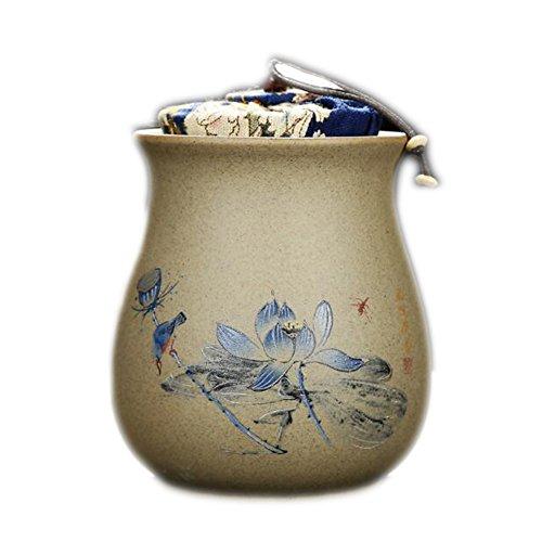 Chinese Retro Ceramics Tea Jars Coffee Tins Storage Jars for Tea Loose Leaf