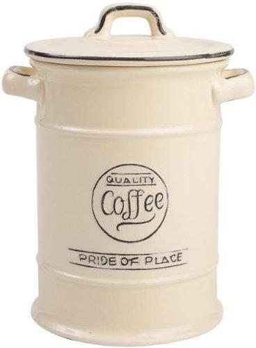 T&G Pride of Place Old Cream Coffee Storage Jar