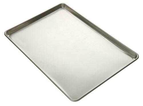 Focus Foodservice Commercial Bakeware 16-Gauge Glazed Aluminum-Sheet Pan Full-Sheet