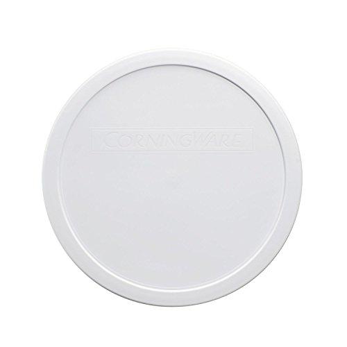 Corningware French White 25 Quart Round Plastic Lid Cover