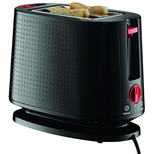 BODUM Bistro 2-Slice Toaster with Bun Warmer