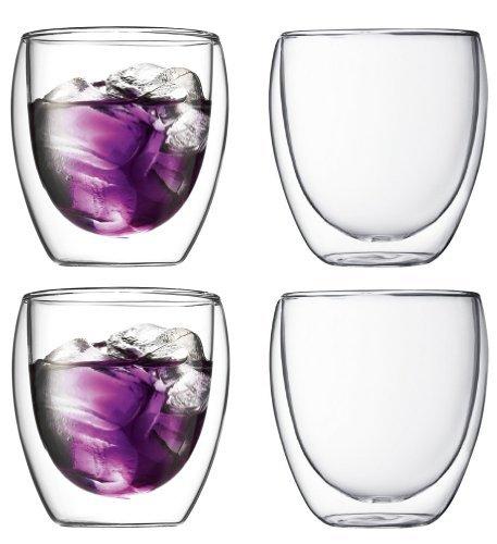Bodum Pavina Double-wall Insulated 85-ounce Glasses Set of 4