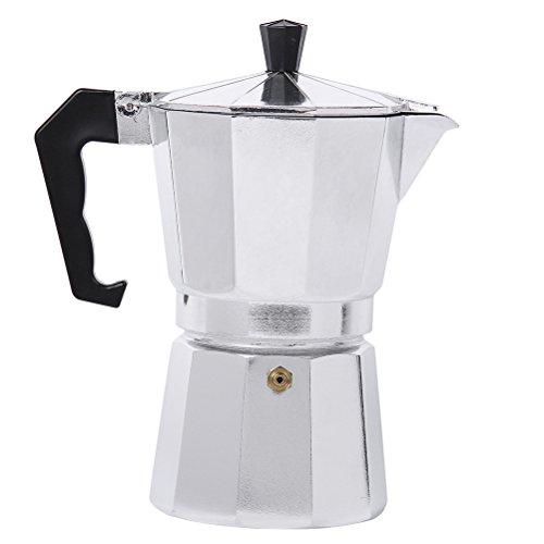 Myvision Aluminum 1cup3cup6cup9cup12cup Italian Stove topMoka espresso coffee makerPercolator pot tool 1 Cup