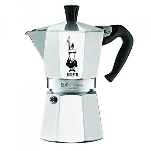 6-Cup Stovetop Espresso Maker Coffee Pot