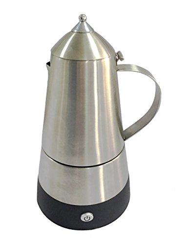 6 Cups Stovetop Espresso Maker Aluminum Moka Coffee pot cup