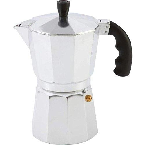 Chef KTESPMKA Aluminum Stovetop Espresso Maker 6 Cup