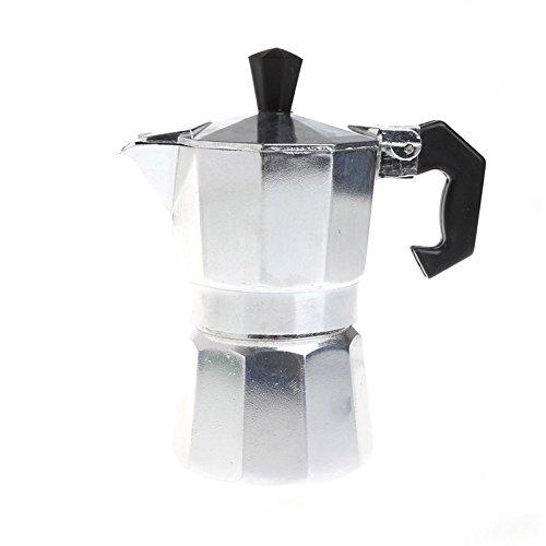 Techinal Aluminum Moka Pot 6 Cup Stovetop Espresso Maker Tool